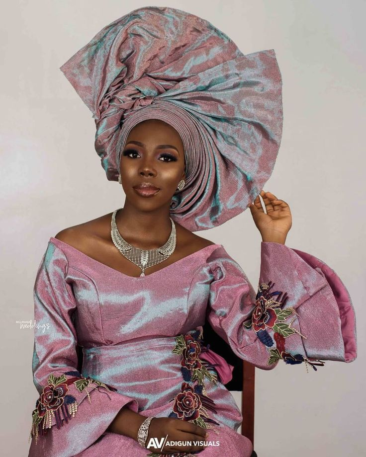 Fabulous Aso ebi style ideas, you will love this styles!