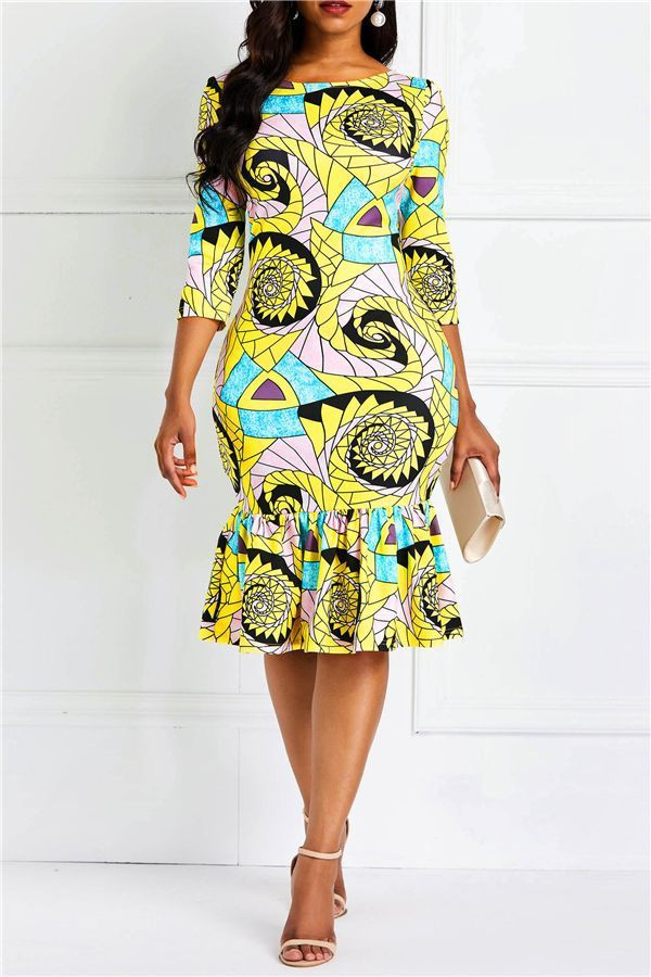 Top Bodycon Ankara style ideas for the week, these styles will inspire you!