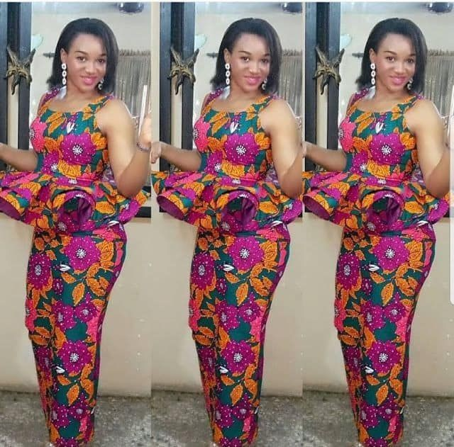 Top Ankara style ideas for Ladies on low.