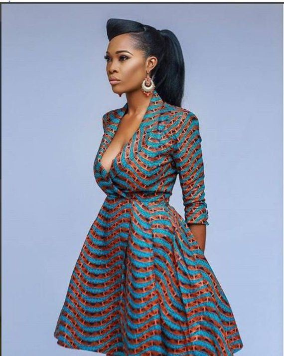 Fabulous African midi Ankara prints for you
